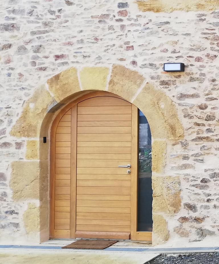 Porte d'entrée Causse en chêne (2)